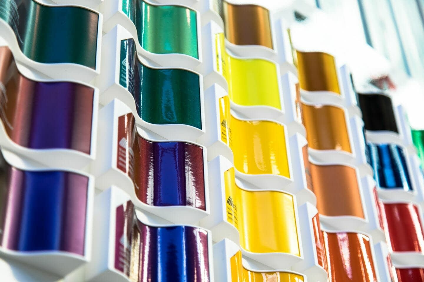 Wrap Innovations Colour Swatch Displays - Wrap Innovations - Car Wrap, Blackout, Window Tinting Specialist Wellington