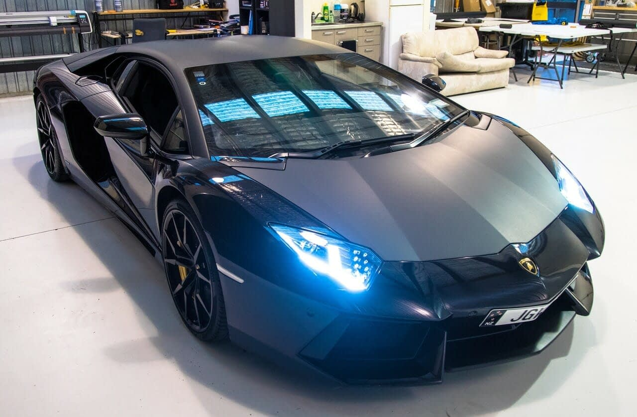 Wrap Innovations 5 Car Wrap Cost Vehicle Wraps Lamborghini Wellington - Wrap Innovations - Car Wrap, Blackout, Window Tinting Specialist Wellington