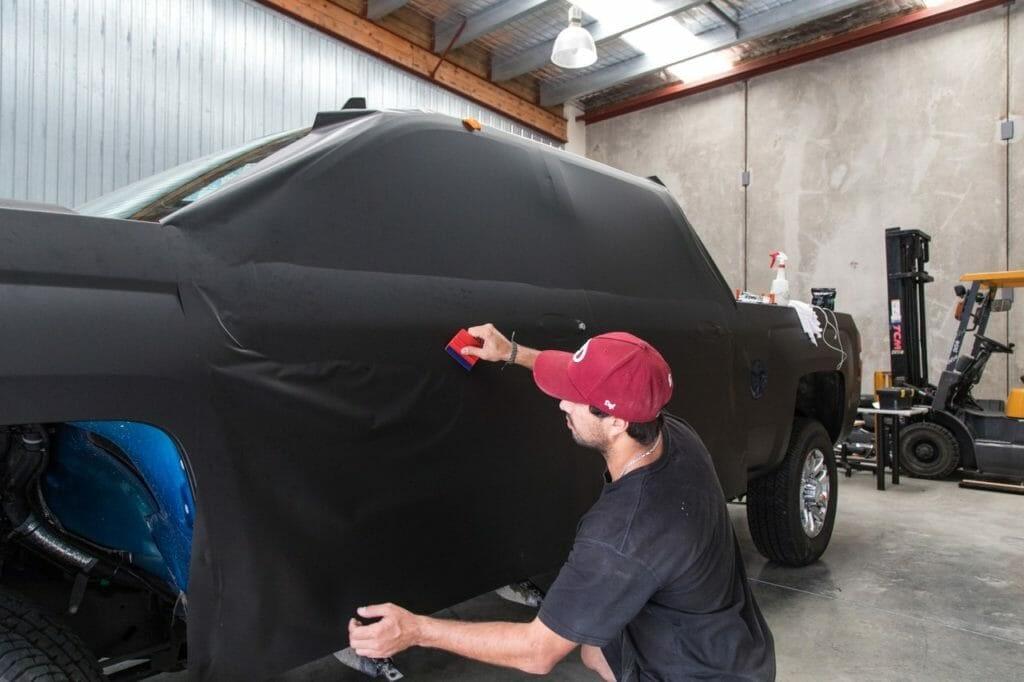 Chev process 14 copy 1280x853 1024x682 1 - Wrap Innovations - Car Wrap, Blackout, Window Tinting Specialist Wellington