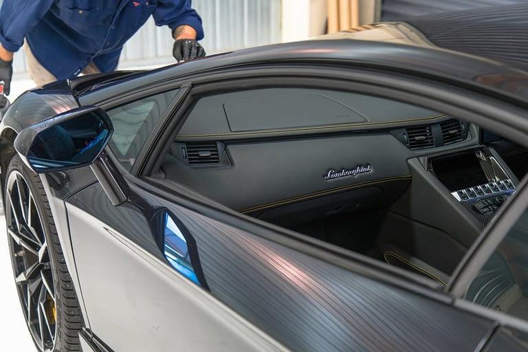 Wrap Innovations in Process - Lamborghini Aventador wrap - Wellington (1)