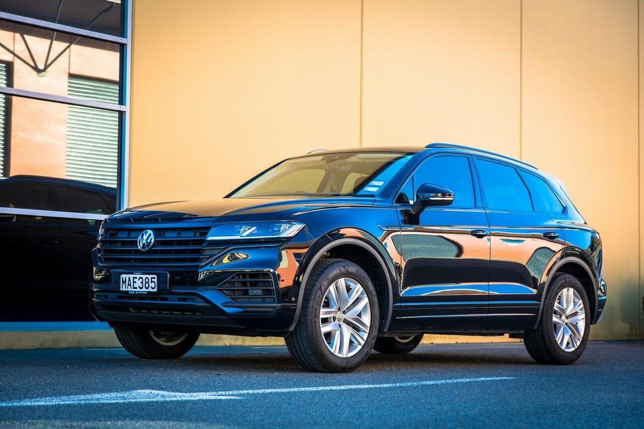 VW Touareg Satin Blackout 9 copy - Wrap Innovations - Car Wrap, Blackout, Window Tinting Specialist Wellington
