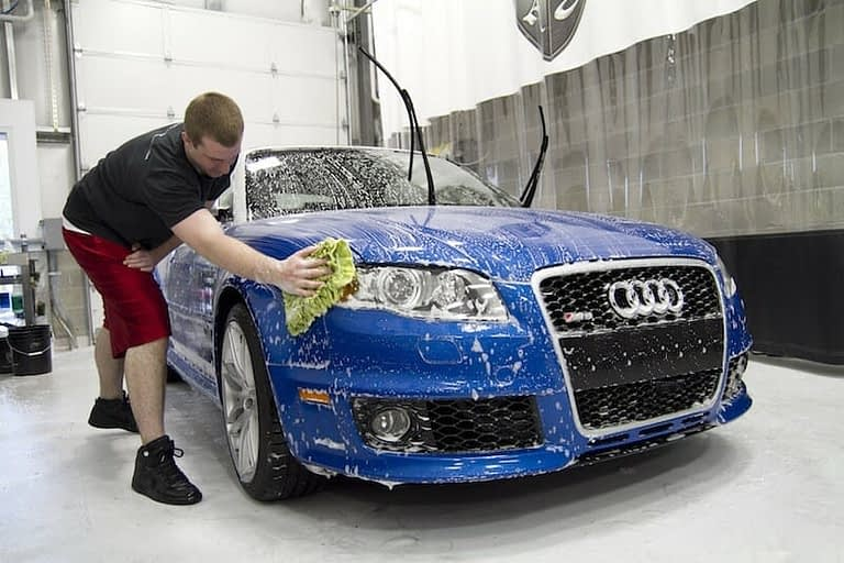 Wrap Innovations Audi Blue RS4 Cleaning Stonechip Car Shot Paint Protection Wellignton - Wrap Innovations - Car Wrap, Blackout, Window Tinting Specialist Wellington